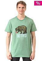 NITRO Bear S/S T-Shirt oiled green