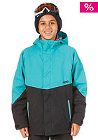 NITRO Boys White Riot Jacket 13 turquoise/black