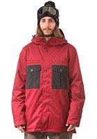 NITRO Chugach Jacket blood red/black