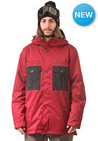 NITRO Chugach Jacket blood red/black
