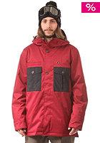 NITRO Chugach Snow Jacket blood red/black