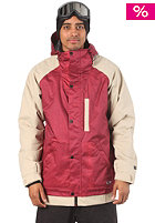 NITRO Citizen Jacket crimson xerox/kh