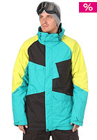 NITRO Closer Jacket 2012 turquoise/black/citrus