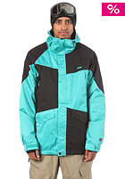 NITRO Closer Jacket turquoise/black dobby