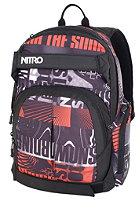 NITRO Drifter Backpack 2012 white graft