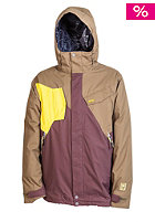 NITRO Generals 2014 Snow Jacket dk army-coffee-lime