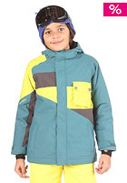 NITRO Kids Boys Decades Jacket 2011 marine/citrus/cold metal