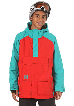 NITRO KIDS/ Boys Funtime Jacket 2012 red/turquoise