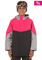 NITRO Kids Girls Limelight Jacket 2012 black/storm/rubine
