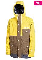 NITRO Kids Rockit Jacket lime-dk army-flin
