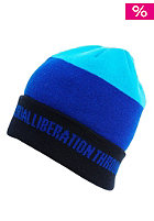 NITRO Libertad Beanie 2012 ink/true blue/acid black