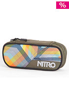 NITRO Pencil Case 2012 geo orange