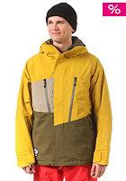 NITRO Rainier Snow Jacket mustard/dark oliv