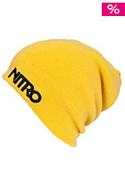 NITRO Raw Vision Hat Beanie yellow