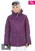 NITRO Sookie Jacket 2012 purple slub twill