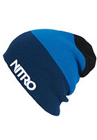 NITRO Stacked Hat Beanie ink/hero blue/black