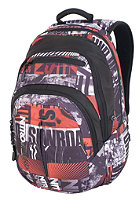 NITRO Stash Backpack 2012 white graft