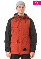 NITRO Sutton Snow Jacket rust/black