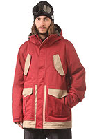 NITRO Wasatch Jacket blood red/khaki