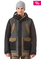 NITRO Wasatch Snow Jacket black woolen twil