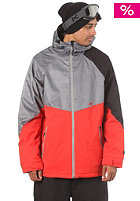 NITRO White Riot Jacket red dobby/grey