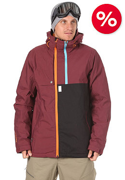 NITRO Wire Jacket 2012 maroon/black