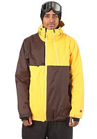 NITRO Wire Jacket yellow/coffee