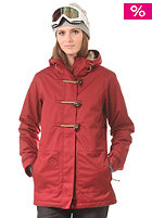 NITRO Womens Brooks Jacket blood red