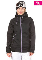NITRO Womens Chelsea Softshell Jacket black