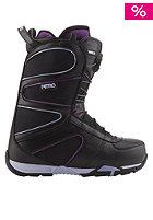 Womens Crown TLS 2013 Boots black-purple