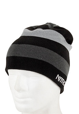 NITRO Womens Defeated Beanie 2012 black/storm