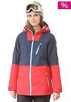 NITRO Womens Heavenly Jacket navy/tomato/seafo