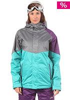 NITRO Womens Limelight 2013 Snow Jacket turquoise/grey xerox