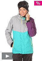 NITRO Womens Limelight Jacket 2012 storm/turquoise/purple