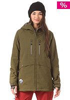 NITRO Womens Monashee Snow Jacket dark olive
