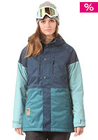 NITRO Womens Rio Snow Jacket navy/seafoam/slat