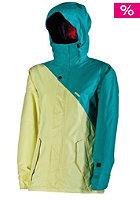 NITRO Womens Siren 2013 Snow Jacket turq twill-lemon
