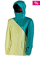 NITRO Womens Siren Jacket 13 turq twill-lemon