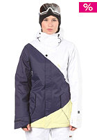 NITRO Womens Siren Jacket white/ink twill