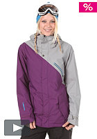 NITRO Womens Stardust Jacket 2012 storm/purple