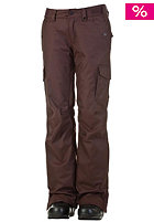 NITRO Womens Static Pant 13 coffee twill