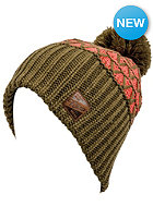 NITRO Womens Turbo Pom Hat dk olive/sunburn