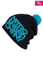 NITRO Womens Womans Link Hat Beanie black/turquoise