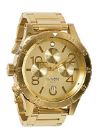 NIXON 48-20 Chrono all gold