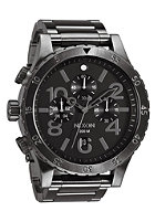 NIXON 48-20 Chrono all gunmetal