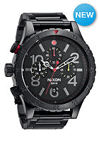 NIXON 48 20 Chrono allblack/multiltd