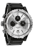 NIXON 48-20 Chrono black/silver