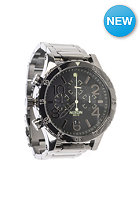 NIXON 48-20 Chrono polished gunmetal / lum