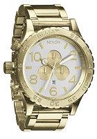 NIXON 51-30 Chrono champagne/gold/silver