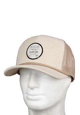 NIXON All Cord Trucker Hat sand